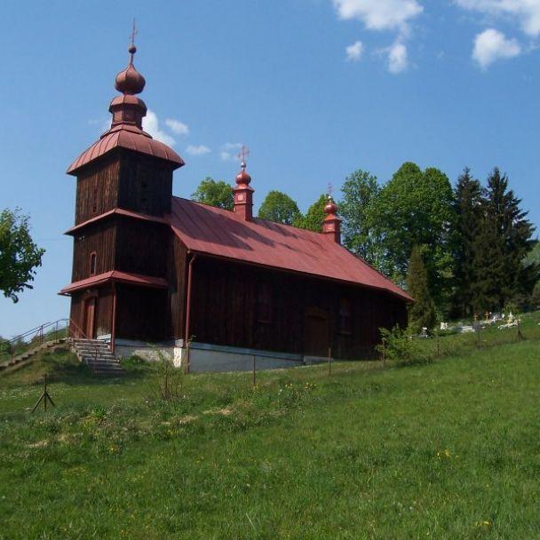 Drevený kostolík vo Varadke